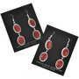 Southwest Fashionable Coral Earrings 29065
