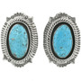 Navajo Turquoise Post Earrings 25138