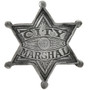 City Marshal Silver Star Badge 29202