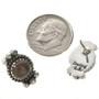January Birthstone southwest Earrings 28862