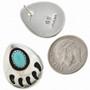 Navajo Bear Paw Jewelry Set 26768