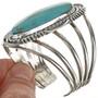 Navajo Turquoise Silver Bracelet 18362