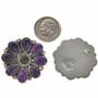 Navajo Gemstone Cluster Post Earrings 28872