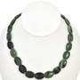 Ruby Zoisite Beads Strands Oval 12mm by 17mm