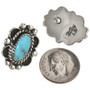Navajo Sterling Post Earrings 28843
