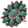 Turquoise Spiny Oyster Ring 29158