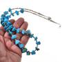 Kingman Turquoise Shell Heishi Necklace 29309