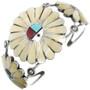 Matching Zuni Sunface Bracelet 29123