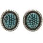 Sleeping Beauty Turquoise Earrings 29380