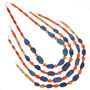 Navajo Beaded Lapis Necklace 29533