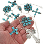 Native American Charm Design Necklace 29241