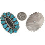 Old Pawn Style Cluster Post Earrings 29793