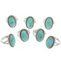 Southwest Turquoise Rings 29837
