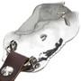Sterling Concho Belt Buckle 29826