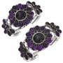 Gemstone Cluster Indian Cuff Bracelet 29811