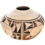 Vintage Hopi Polychrome Pottery 20th Century by Pauline Setalla 0042