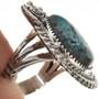 OOAK Turquoise Ladies Navajo Ring 28942