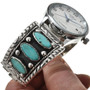 Sterling Turquoise Mens Jewelry 29648
