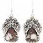 Wild Horse Magnesite Dangle Earrings 29875