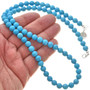 Turquoise Bead Navajo Necklace 29899