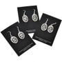 Overlaid Sterling Earrings 29941