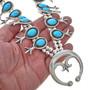 Turquoise Squash Blossom Necklace 29960