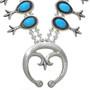 Navajo Turquoise Silver Naja 29960
