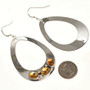 Handmade Silver Navajo Earrings Large 29993