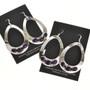 Amethyst Teardrop Navajo Earrings 29994