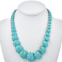 Native American Turquoise Beaded Necklace 30033