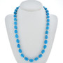 Blue Turquoise Bead Necklace 30039