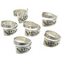 Mens or Ladies Sterling Silver Ring Sizes 8 to 13 30106