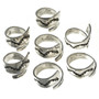 Navajo Silver Bypass Ladies Ring Adjustable Sizes 30107