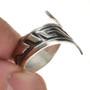 Navajo Ring Overlay Design Silver 30109