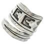 Sterling Silver Adjustable Ring 30110