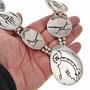 Vintage Sterling Silver Overlay Necklace 30112