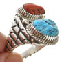 Navajo Turquoise Sterling Silver Ring 30126