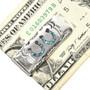 Silver Lucky Horseshoes Money Clip 30165