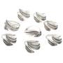 Navajo Silver Feather Adjustable Ring 30168