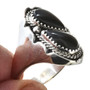 Smooth Sterling Mens Ring -30189