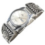 Vintage Overlaid Silver Sunface Watch 30217