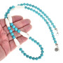 Beaded Turquoise Necklace 30229