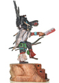 Black Ogre Hopi Indian Kachina by Milton Howard 30281