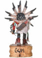 White Orgre Kachina Sculpture 30283