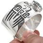 Silver Overlay Cuff 30306