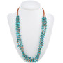 Three Strand Navajo Turquoise Chip Necklace 30315