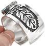 Overlaid Silver Bracelet