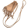 Small Handmade Leather Indian Medicine Bag  30373