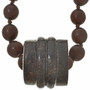 Over the Head Style Wooden Bead Necklace 30386