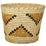 Vintage Papago Indian Wastebasket.30414